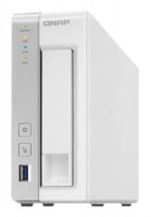 QNAP TS-131P TurboNAS server, 512MB DDR3, pro 1x3,5/2,5 SATA3 (3xUSB3 +1xGLAN datové úložiště)