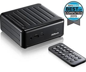 ASROCK BEEBOX J3160/B/BB black černý (intel celeron J3160 Quad-core, bez MEM, bez HDD, 2xHDMI +DPort