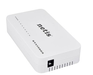 NETIS ST3108GS GBit switch, 8x 10/100/1000Mbps 8port mini size