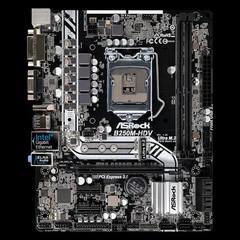 ASROCK MB B250M-HDV (intel 1151, 2xDDR4 2400MHz, VGA+DVI +HDMI, USB3.0, 6xSATA3 + M.2, 7.1, GLAN, mA