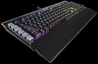 CORSAIR klávesnice GAMING K95 RGB PLATINUM LED + Cherry MX BROWN, CZ verze, vícebarevné podsvícení,