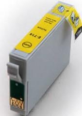 EPSON T0714 kompatibilní náplň žlutá inkoustová (yellow), pro Stylus D78, DX4000, DX5000, DX5050, DX