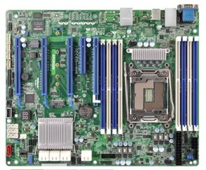 ASROCK RACK MB EPC612D8 server MB (intel 2011 R3, 8xDDR4, 11xSATA3 , GLAN, ATX)