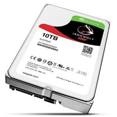 SEAGATE ST10000VN0004 hdd 10TB IronWolf SATA3-6Gbps 7200rpm 256MB NAS HDD 24x7 1-8bay 210MB/s 3.5 RA