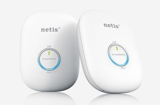 NETIS PL7600KIT Powerline Ethernet adapter 600Mb/s , 2 kusy homeplug