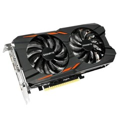 GIGABYTE VGA GV-N1050WF2OC-2GD GeForce GTX1050 (2GB GDDR5, 128bit, DVI+3xHDMI+DPort, GTX 1050)