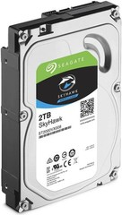 SEAGATE ST2000VX008 SkyHawk hdd 2TB SATA3-6Gbps, 64MB cache (24x7) max 8bay, max 64 kamer, 180MB/s