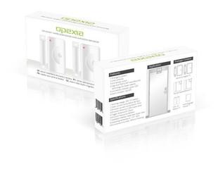 OPEXIA OP-DW01 bezdrátový MK magnetický kontakt, 2ks v balení (pro všechny systémy OPEXIA, pro zabez
