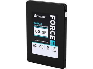 CORSAIR ForceLS SSD 60GB 2.5in 7mm SATA3 6Gb/s MLC (čtení až 540MB/s, zápis až 440MB/s, řada FORCE L