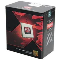 AMD cpu FX-8370 8-Core AM3+ Box (4.0GHz / 4.3GHz, 8MB+8MB cache, 125W, 8jádro)