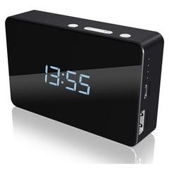 RAIDSONIC CY BOX IB-PBA5000 multifunkční Power Bank black 5000mAh, ukazuje čas, teplotu, budík, exte