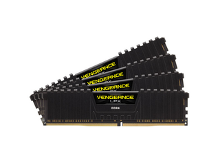CORSAIR 16GB=4x4GB DDR4 2400MHz VENGEANCE LPX BLACK PC4-19200 CL14-16-16-31 1.2V XMP2.0 (16GB=kit 4k