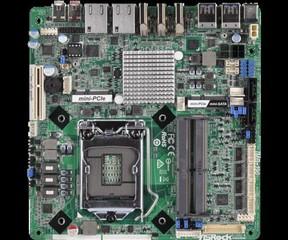 ASROCK INDUSTRIAL MB IMB-190/Q170 (intel 1151, 2x DDR4 SODIMM, DVI+HDMI, SATA+R, PCI-ex, USB3, 2xGLA