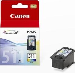 CANON CL-511 originální náplň barevná (color CL511) pro MP240, MP260, MP270, IP2700 malá (CL511)