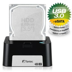 FANTEC MR-U3e DOCKING STATION black USB3.0+eSATA pro 2.5