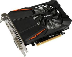 GIGABYTE VGA GV-N1050OC-2GD GeForce GTX1050 (2GB GDDR5, 128bit, DVI+ HDMI+DPort, GTX 1050)