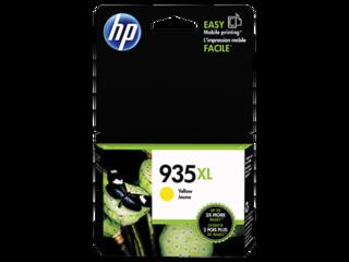 HP C2P26AE originální náplň žlutá č.935XL velká cca 825 stran (yellow, pro HP OfficeJet 6830, 6820,