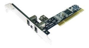 ST-LAB F-330 PCI 3+1port IEEE1394 TI interní karta (3xExt+1xInt)