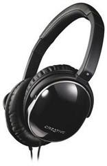CREATIVE AURVANA LIVE! sluchátka bez mikrofonu, konektor 3.5mm, náhlavní sluchátka