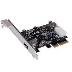 ST-LAB U-1140 PCIE 2x USB3.1 interní karta (1x externí + 1x interní konektor typ A) řadič