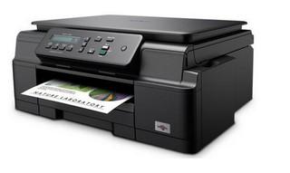 BROTHER DCP-J100 Print/Scan/Copy - 6000x1200, 11/6 stran/min LCD, USB 2.0, multifunkce ink benefit