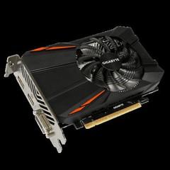 GIGABYTE VGA GV-N105TD5-4GD GeForce GTX1050Ti (4GB GDDR5, 128bit, DVI+HDMI+DPort, GTX 1050 Ti)