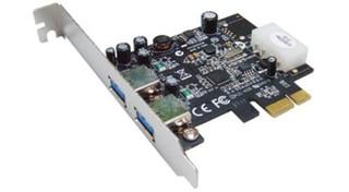 ST-LAB U-710 PCIE 2x USB3.0 interní karta NEC chipset (2x externí konektor) řadič