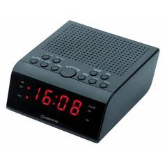 MANTA CLK008 Digitální rádiobudík, LCD, AM FM, Snooze