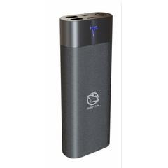 MANTA MPB006B Power Bank 12000mAh, externí cestovní baterie (černá), 2xUSB