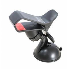 MANTA držák do auta pro mobilní telefony, Smartphony a tablety, přísavka do auta, černý