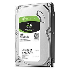 SEAGATE ST1000DM010 hdd 1TB SATA3-6Gbps 7200rpm 64MB BarraCuda, max. 210/156 MB/s