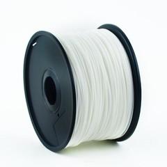 GEMBIRD 3D PLA plastové vlákno pro tiskárny, průměr 1,75 mm, bílé, 3DP-PLA1.75-01-W