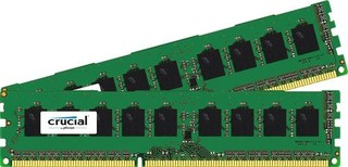 CRUCIAL pro Apple/Mac 16GB=2x8GB DDR3 ECC Unbuffered 1866MHz PC3-14900 CL13 1.50