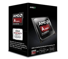 AMD cpu A6-6400K X2 Box FM2 (3.9GHz, turbo 4.1GHz, 1MB cache, 65W, 2x jádro, 2x vlákno)