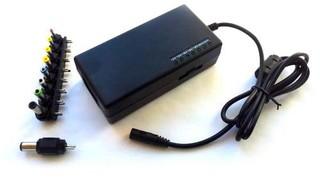EUROCASE 96W univerzální napájecí adaptér vstup 110-240V / výstup 12-24V (9 různých koncovek)