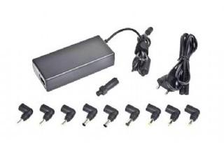 Nabíječka adaptér notebooků universal AC1D 90W (autom. volba napětí) do sítě GEMBIRD