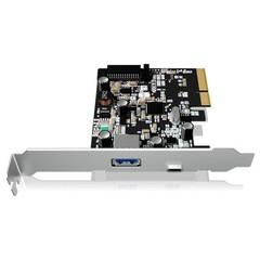 RAIDSONIC ICY BOX IB-U31-03 PCIE USB3.1 interní karta (2x externí konektor A+C, 1x typ A + 1x typ-C)