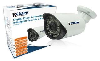 KGUARD CCTV kamera VW128H, Mega Pixel CMOS, 1000 TVL, IR LED dosvit 35m, 6mm fixní objektiv, voděodo