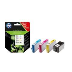 HP C2N92AE = sada náplňí č.920XL CD972AE + CD973AE + CD974AE + CD975AE (Officejet 6000, 6500, 7000,