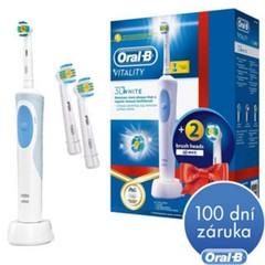 ORAL-B, Elektrický kartáček, Vitality 3DWhite + EB 18-2 3D White Luxe
