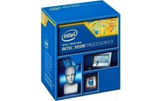 INTEL cpu XEON E3-1220V3 3.1GHz QuadCore BOX, 8MB cache, LGA1150, 4 jádra 4 vlákna