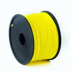 GEMBIRD 3D PLA plastové vlákno pro tiskárny, průměr 1,75 mm, žluté, 3DP-PLA1.75-01-Y