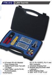 GOLDTOOL BOX TTK-312 sada nářadí (LAN Tool Kit)