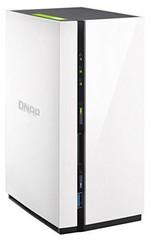QNAP TS-228 TurboNAS server, 1GB DDR3, pro 2x 3,5in SATA3 HDD (USB3 + 1xGLAN) datové úložiště