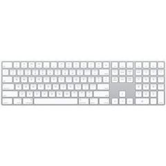 APPLE Magic Keyboard CZ s numerickými klávesami (wireless, bezdrátová klávesnice bílá)