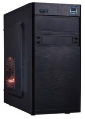 EUROCASE MC X202 ATX black černý, bez zdroje, microtower mATX (USB2+USB3, +Audio)