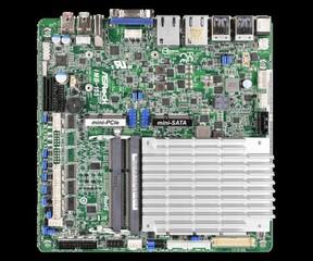 ASROCK INDUSTRIAL MB IMB-155B/N3160 s integrovaným CPU Intel N3160 (2x DDR3L SODIMM, VGA+HDMI +LVFS,