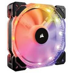 CORSAIR HD140 RGB LED ventilátor PWM 2ks - 140x25mm (2 ks v balení, řízené LEDky, s řadičem)