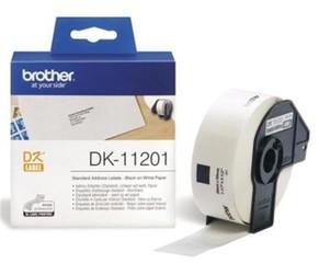 BROTHER DK-11201- papírová etiketa (29x90mm - 400ks)