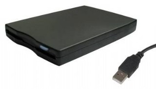 GEMBIRD FDD 1.44MB externí USB black (černá)